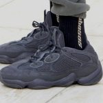 adidas YEEZY 500 Utility Black (F36640) - On feet