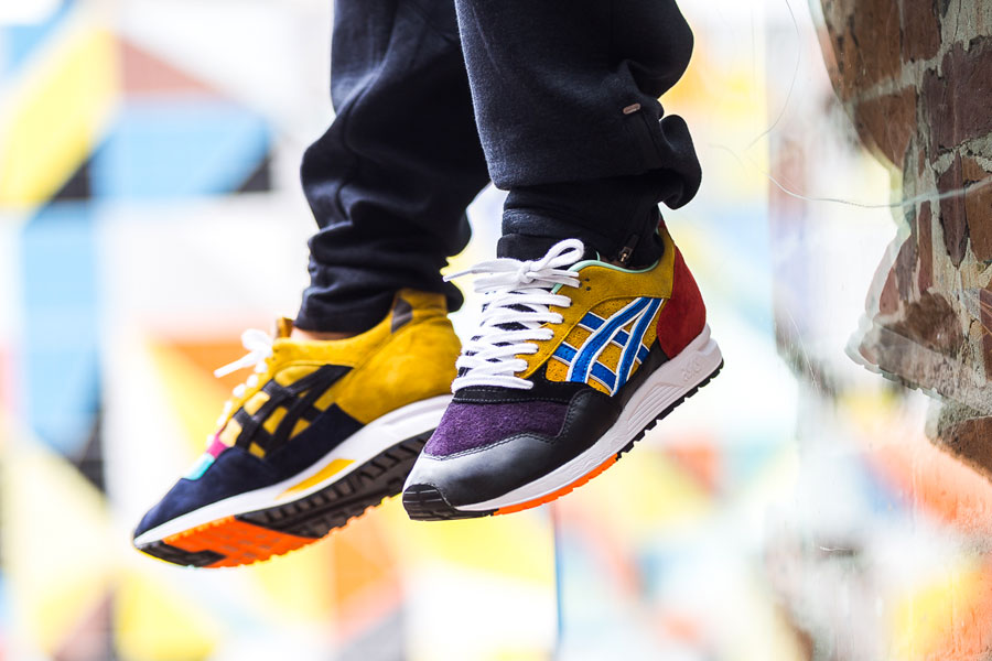 Afew x ASICS GEL-Saga What The GEL-Saga - On feet