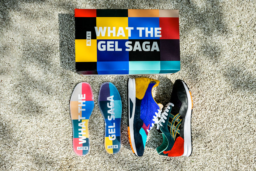 Afew x ASICS GEL-Saga What The GEL-Saga