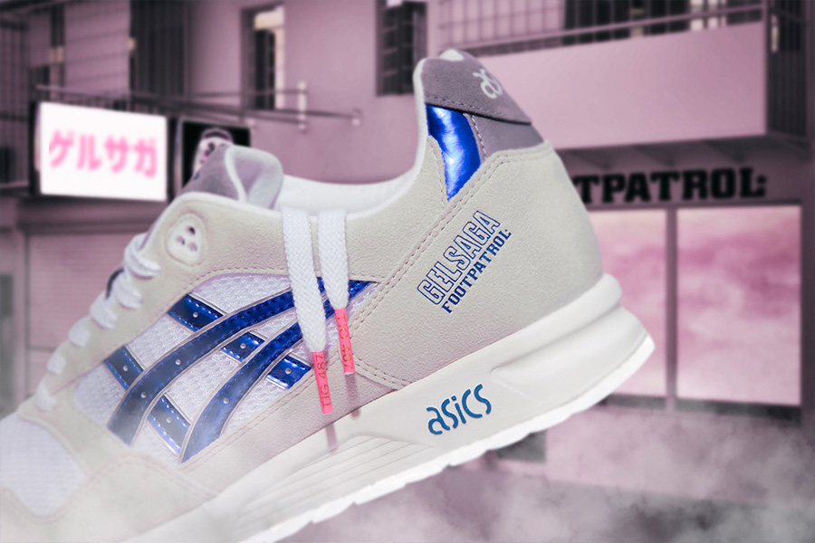 Footpatrol x ASICS GEL-Saga Anime - Laces
