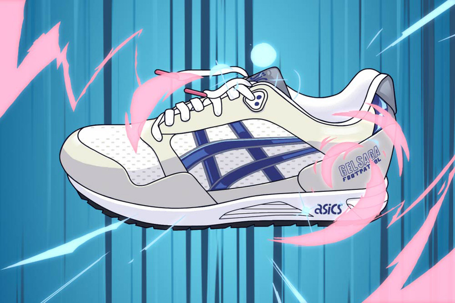 Footpatrol x ASICS GEL-Saga Anime - Mood 6
