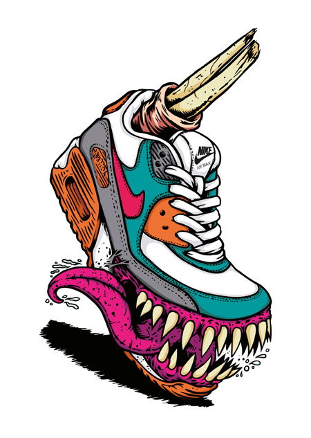 Marcos Cabrera - Nike Air Max 90 Monster