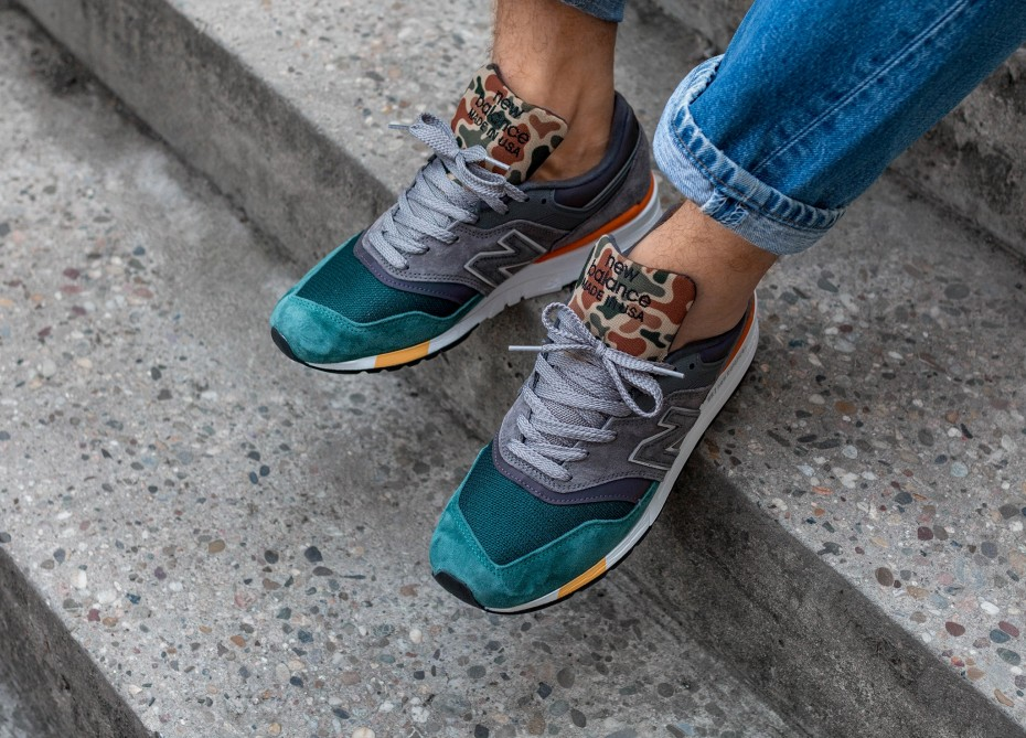 New Balance M997NM Made In USA - On feet