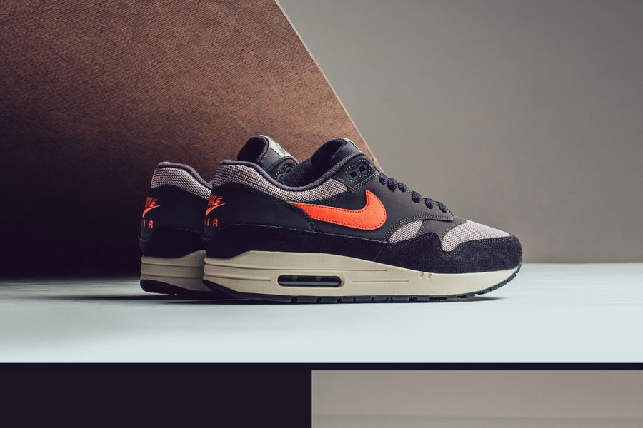 """sports shoes 1fa85 35fe4 Nike Presents the Air Max 1 in """"Oil Grey"""" and """"Wild Mango"""""""