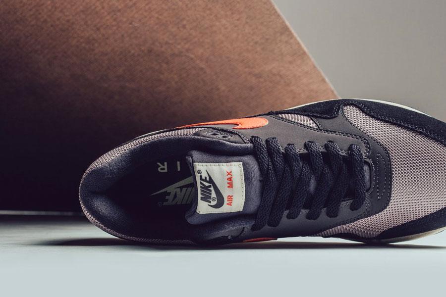 Nike Air Max 1 Oil Grey Wild Mango (AH8145-004) - Tongue