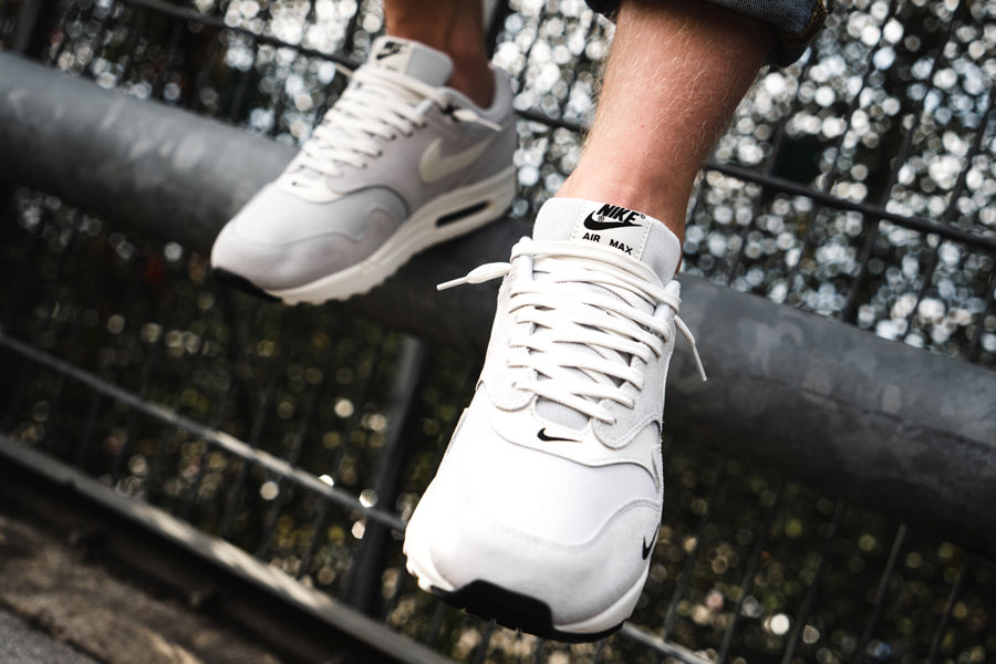 Nike Air Max 1 Premium Mini Swoosh (875844 006) - On feet