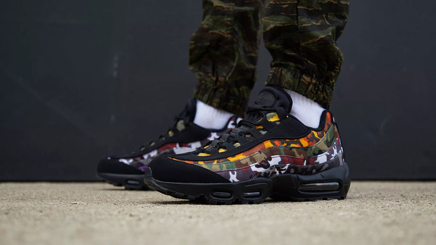Nike Air Max 95 ERDL Party Black (AR4473-001) - On feet