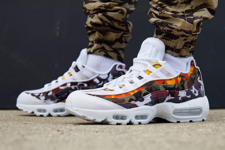 Nike Air Max 95 ERDL Party White (AR4473-100) - On feet