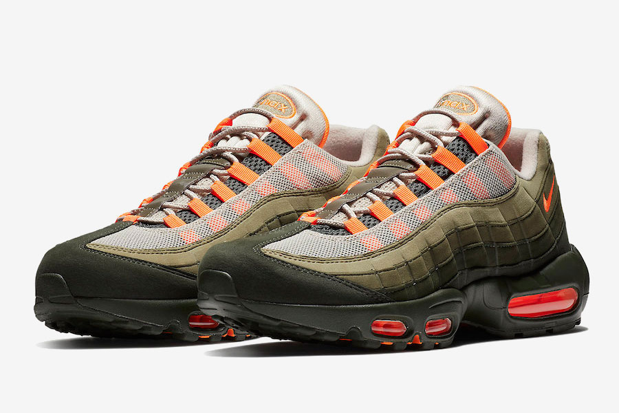 Nike Air Max 95 Neutral Olive Total Orange | Sneakers Magazine