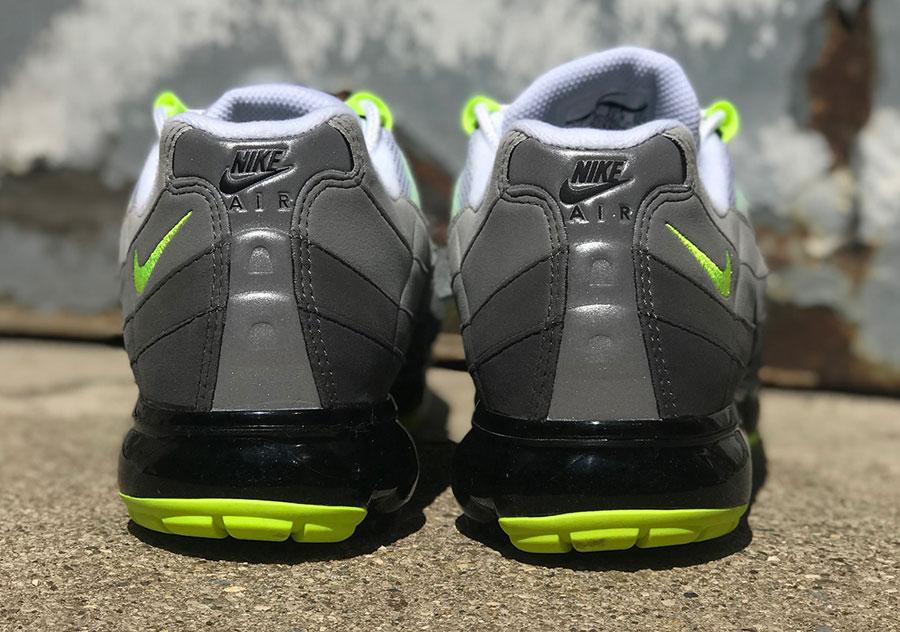 release date 0feb9 f27a9 Nike Air VaporMax 95 OG Neon (AJ7292-001) | Sneakers Magazine