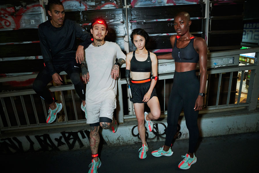 Nike Zoom Pegasus Turbo - Group (On feet)