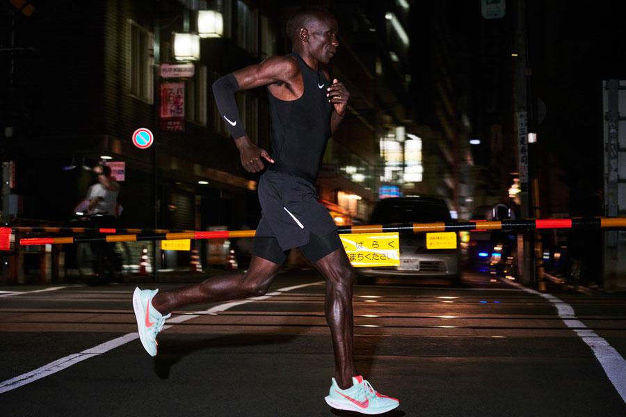 Nike Zoom Pegasus Turbo - On feet (Side)