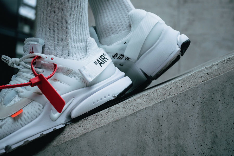 OFF-WHITE x Nike Air Presto 2018 Polar Opposites White (AA3830-100) - Detail