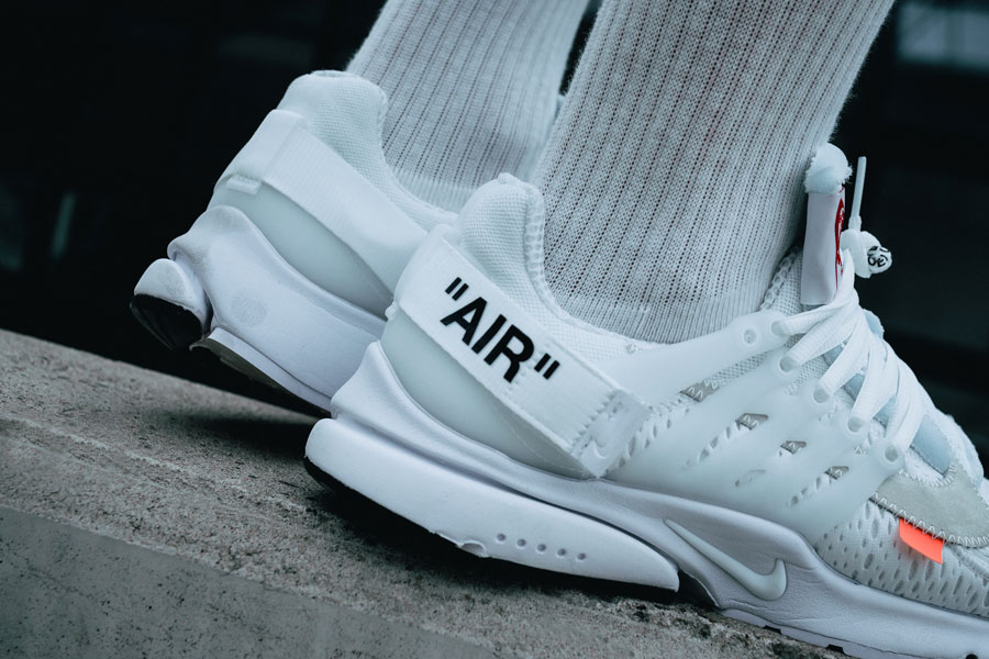 OFF-WHITE x Nike Air Presto 2018 Polar Opposites White (AA3830-100) - Heel