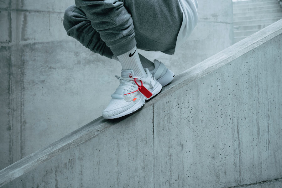 OFF-WHITE x Nike Air Presto 2018 Polar Opposites White (AA3830-100) - On feet