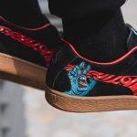 Santa Cruz x PUMA Suede Classic (366321 01) - On feet (Heel)