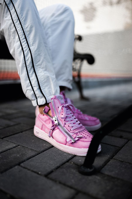 Sneaker Blogger Dead Stock - Acronym x Nike Lunar Force 1 Dyed Pink