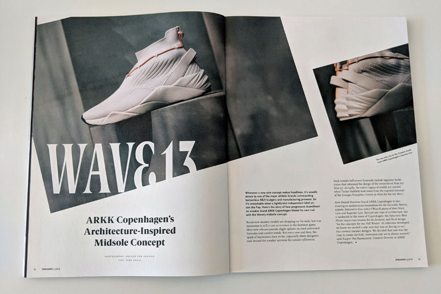 Sneakers Mag July 2018 (Issue 39) - ARKK Copenhagen