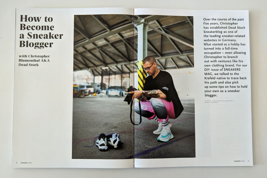 Sneakers Mag July 2018 (Issue 39) - Dead Stock Sneakerblog