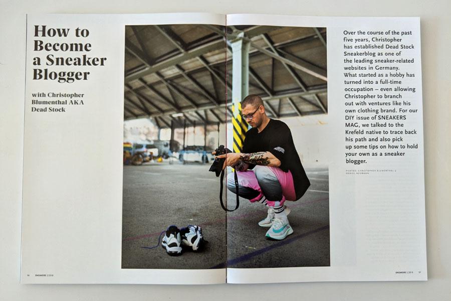 Sneakers Mag July 2018 (Issue 39) - Dead Stock Sneakerblog
