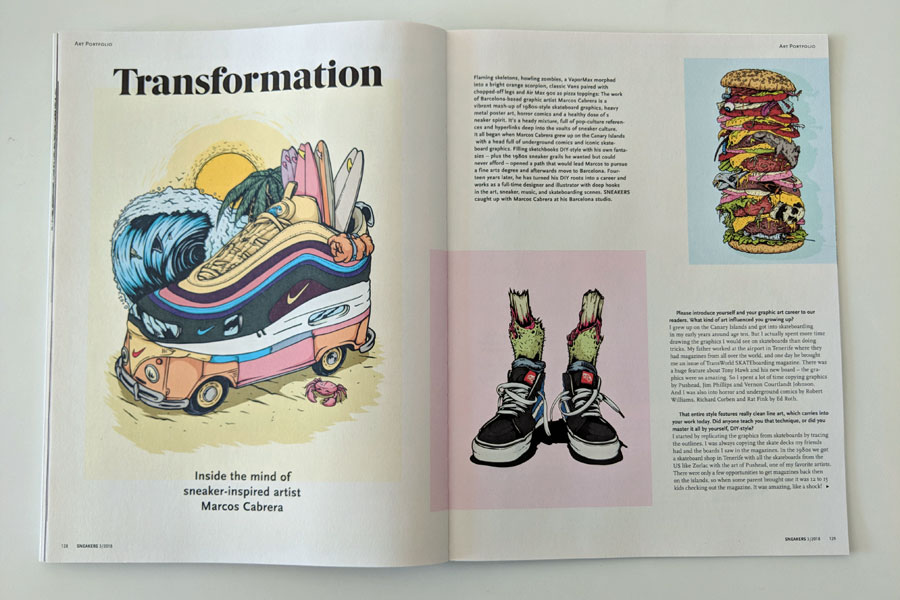 Sneakers Mag July 2018 (Issue 39) - Marcos Cabrera
