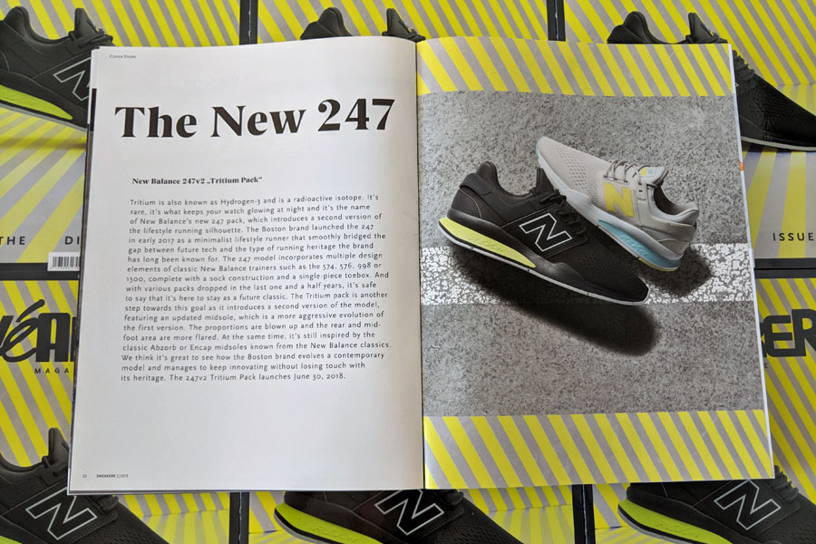 Sneakers Mag July 2018 (Issue 39) - New Balance 247v2