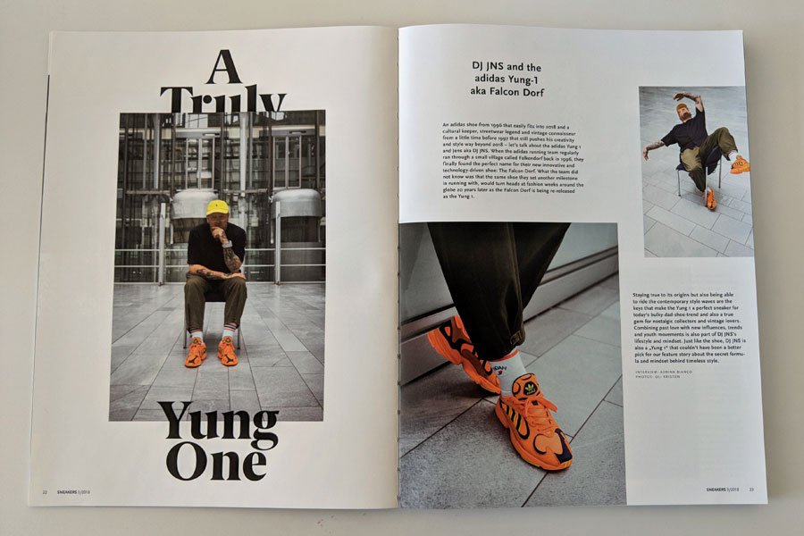 Sneakers Mag July 2018 (Issue 39) - Yung-1 DJ JNS