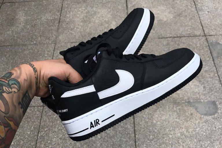 Supreme x COMME des GARCONS x Nike Air Force 1 (2018) Black