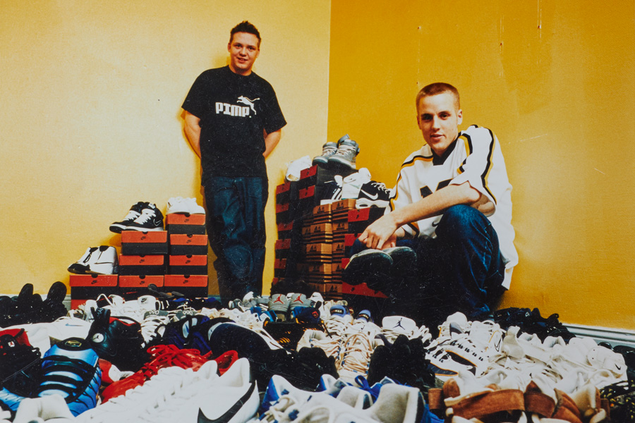 The History of Sneakersnstuff - Peter Jansson Erik Fagerlind
