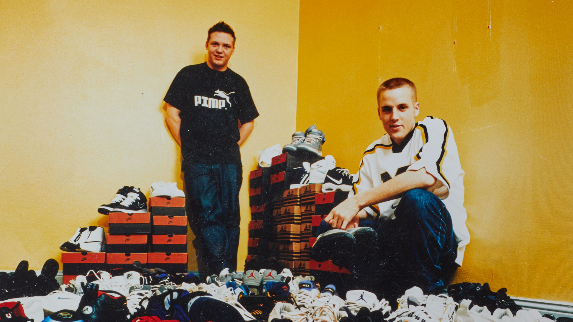 The History of Sneakersnstuff - Slider