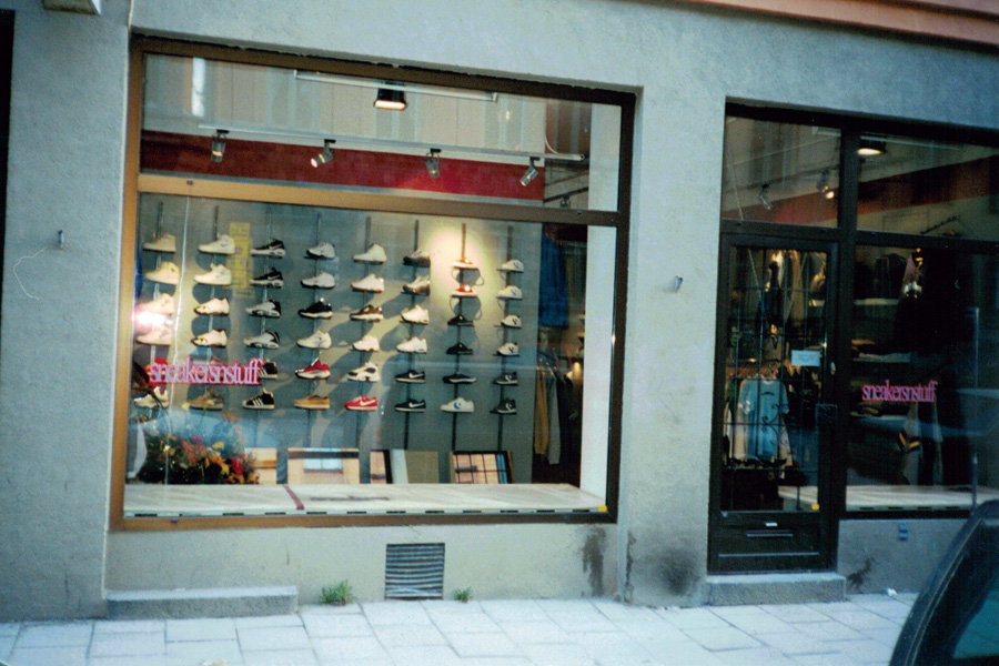 The History of Sneakersnstuff - Stockholm (Storefront)