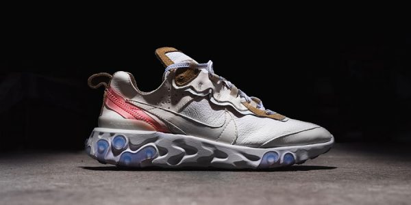 Check out This Nike React Element 87 Leather Custom