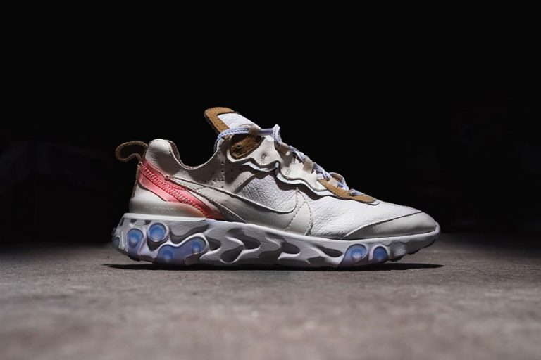 The Shoe Surgeon x Nike React Element 87 Leather Custom - Side