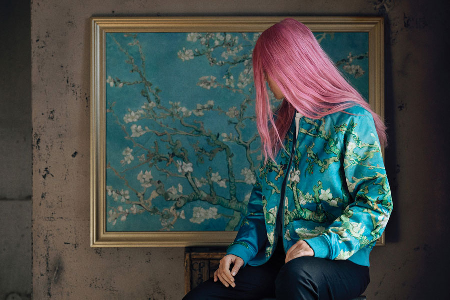 Van Gogh Museum x VANS Collection - Almond Blossom (Bomber Jacket)