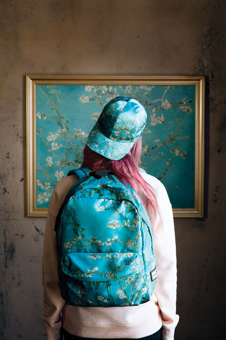 Van Gogh Museum x VANS Collection - Almond Blossom (Hat Backpack)