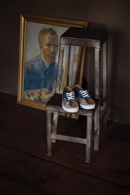Van Gogh Museum x VANS Collection - Self-Portrait (Authentic)