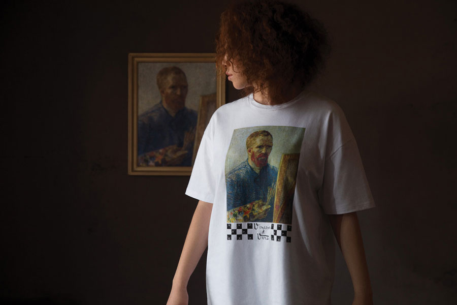 Van Gogh Museum x VANS Collection - Self-Portrait (Tee)