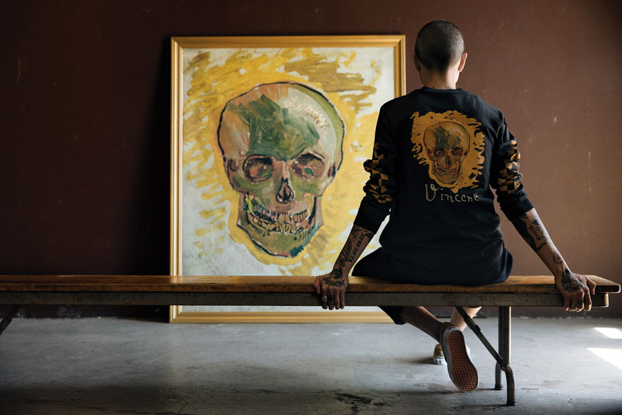 Van Gogh Museum x VANS Collection - Skull (Mood)