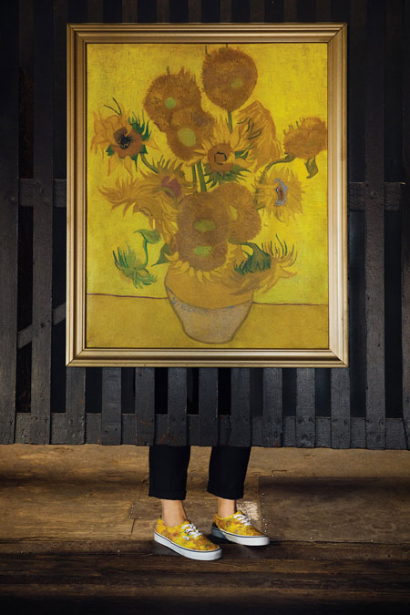 Van Gogh Museum x VANS Collection - Sunflowers (Authentic)
