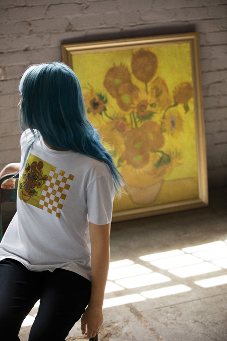 Van Gogh Museum x VANS Collection - Sunflowers (Tee)