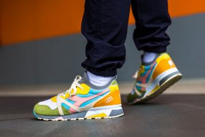 Best Sneakers of July 2018 - LC23 x Diadora N9000 Socks Saturno