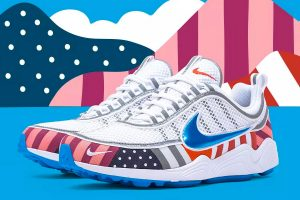Best Sneakers of July 2018 - Parra x Nike Air Zoom Spiridon