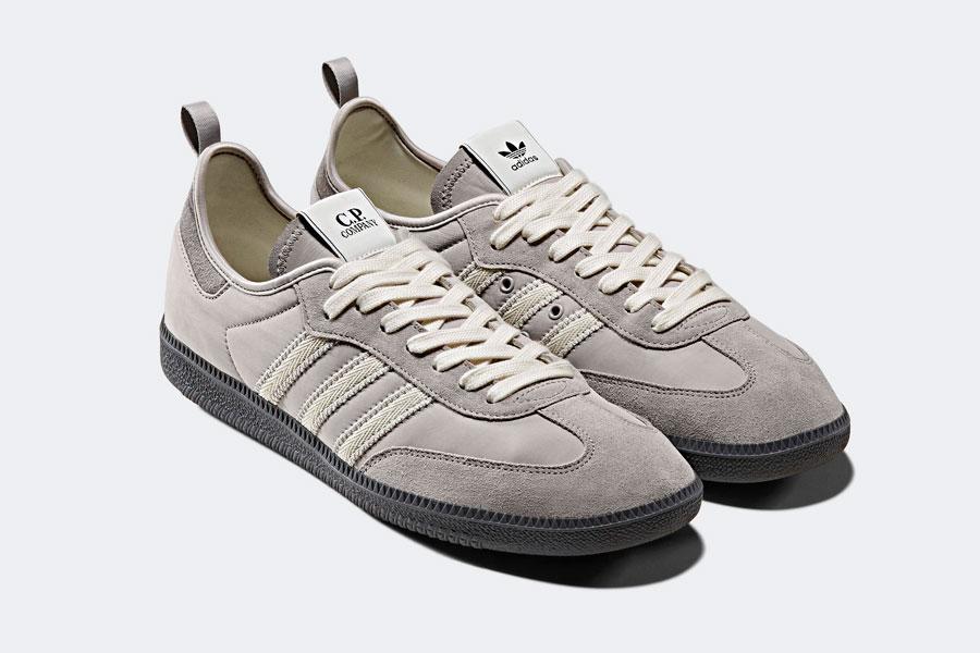 CP Company x adidas Samba Grey (F33870)