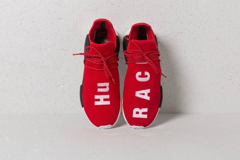 Footshop Raffle - Pharrell Williams x adidas Hu NMD Scarlet (Top)