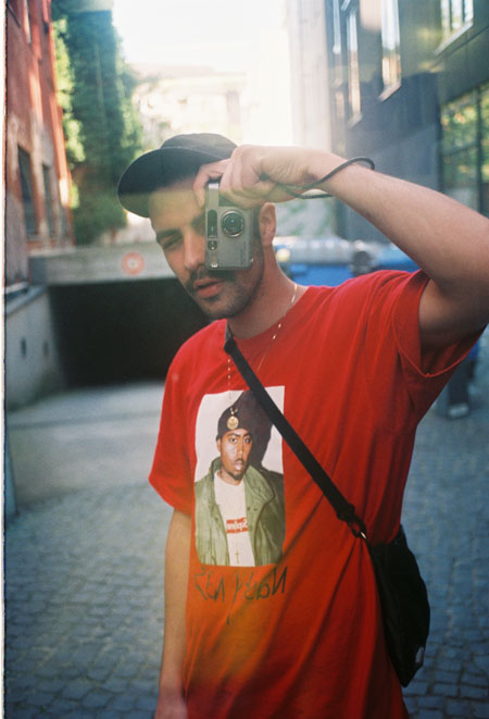 Kane Holz Kanescans - Self-Portrait