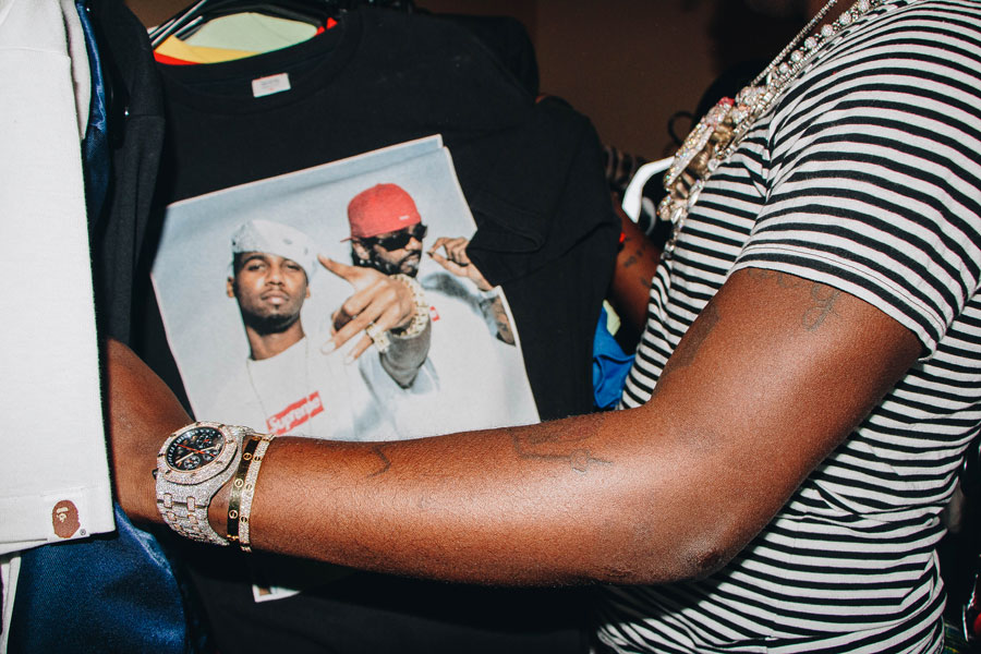 Lil Yachty x Grailed - Supreme Sale (Dipset Tee)