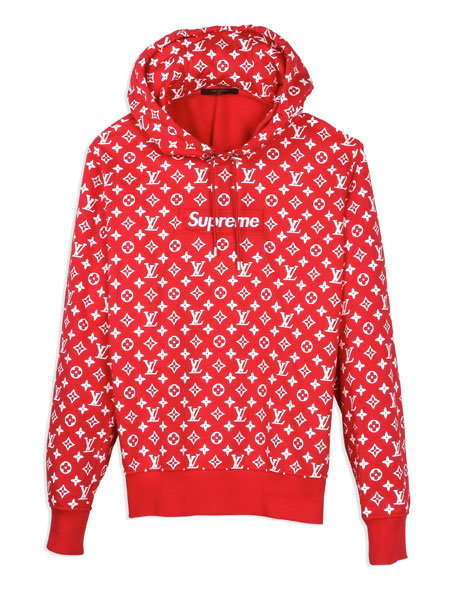 Lil Yachty x Grailed - Supreme x Louis Vuitton Hoodie
