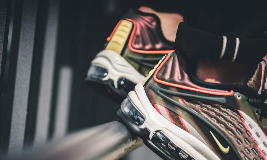 Nike Air Max Deluxe Sequoia (AJ7831-300) - Heel