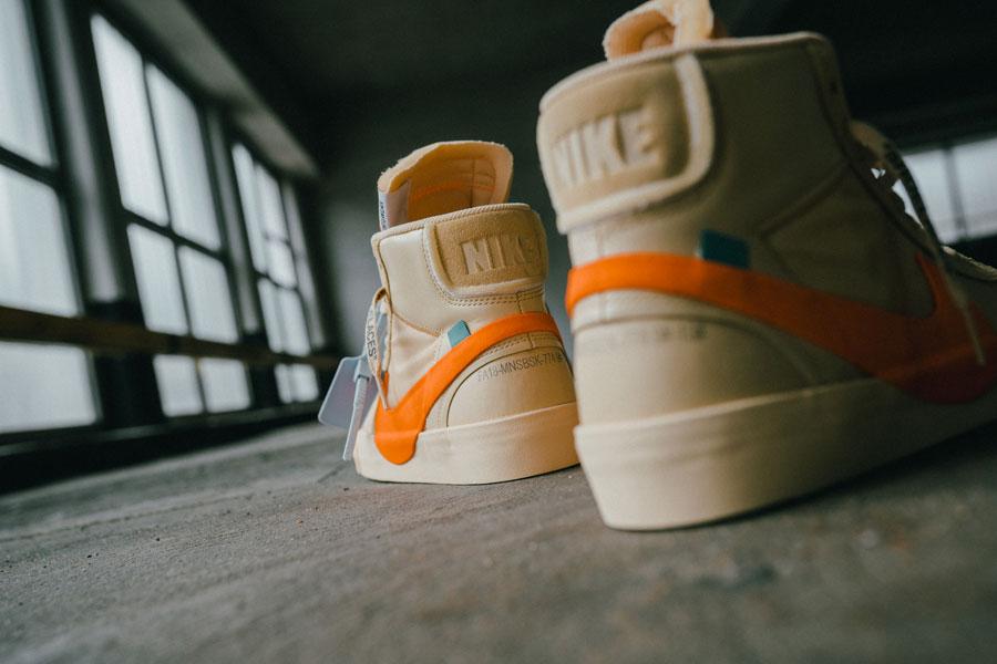 OFF-WHITE x Nike Blazer All Hallows Eve (AA3832-700) - Back