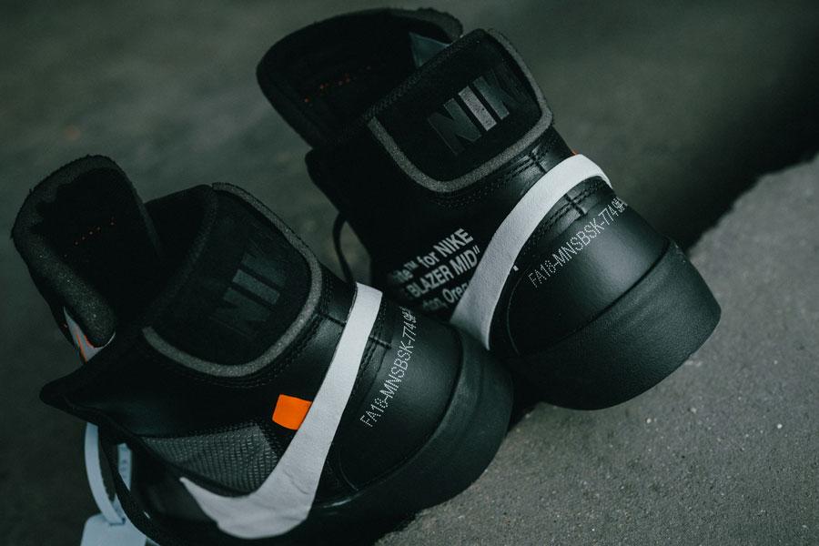 OFF-WHITE x Nike Blazer Grim Reepers (AA3832-001) - Back